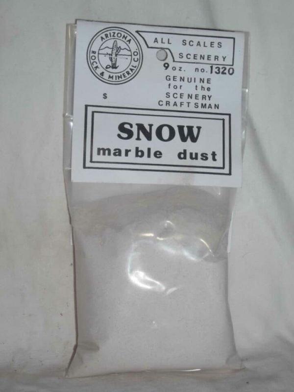 1320 White Marble Powder Snow