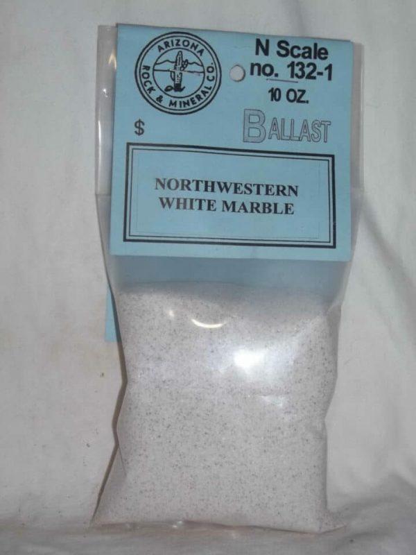 1321 White Marble Ballast N Scale