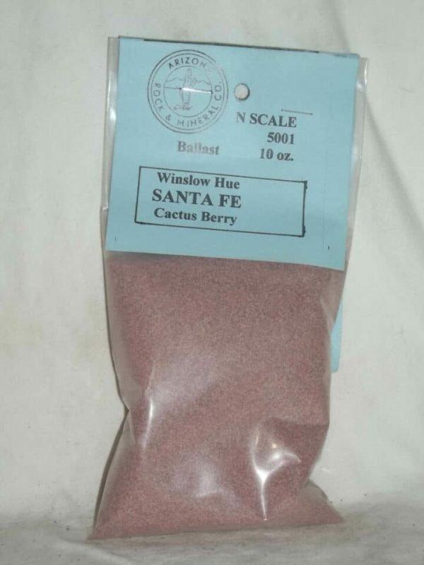 500 Cactus Berry Winslow Santa Fe Mauve N Scale Ballast