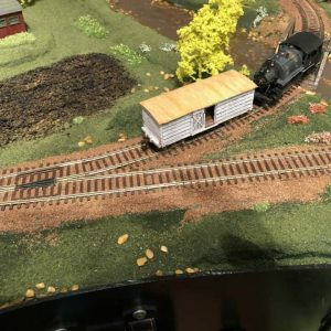 123 Union Pacific Tan Granite Ballast