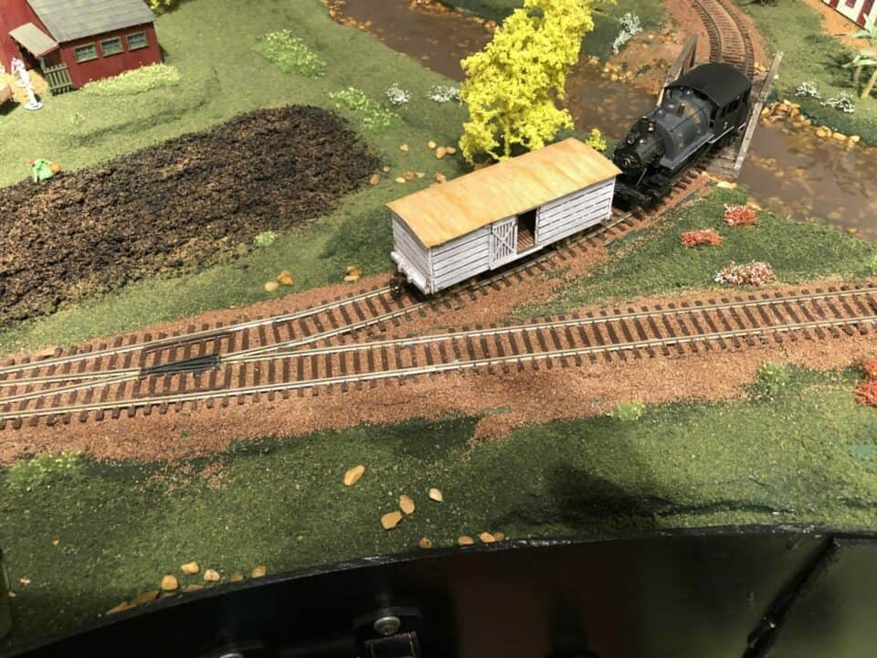 123 Union Pacific Tan Granite Ballast