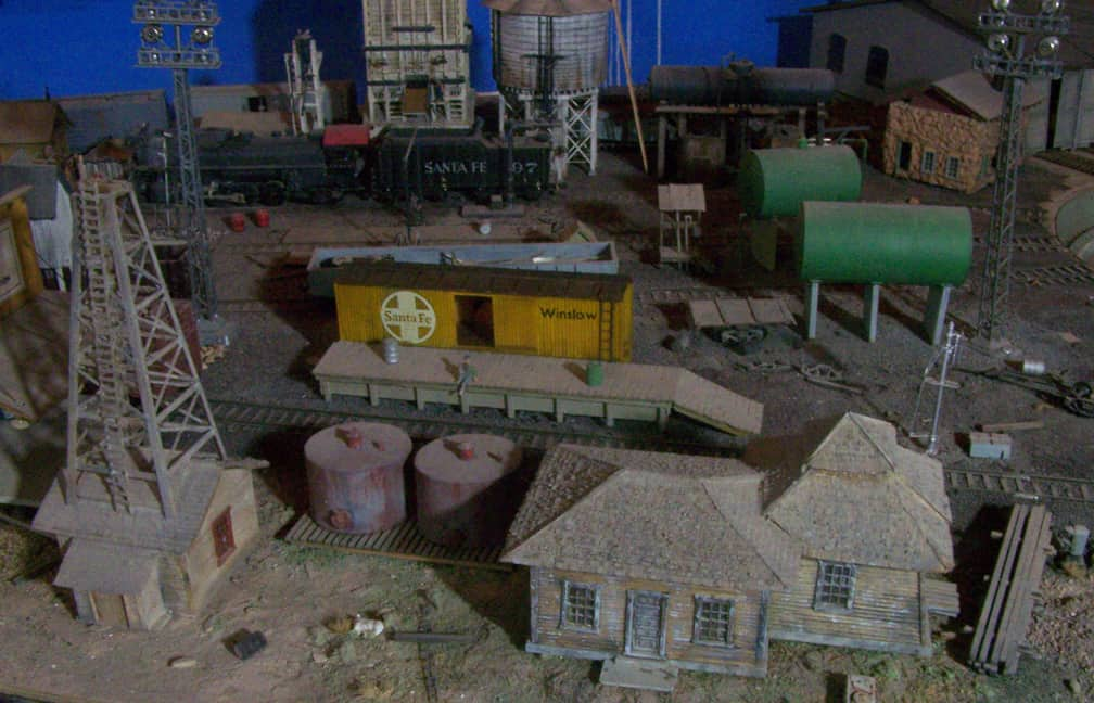 Wood Boxcar Freight House