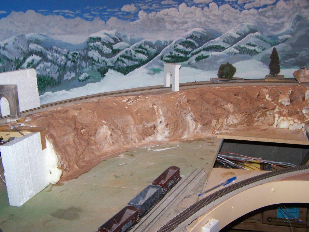 BACKDROPS FOR MODEL RAILROAD
