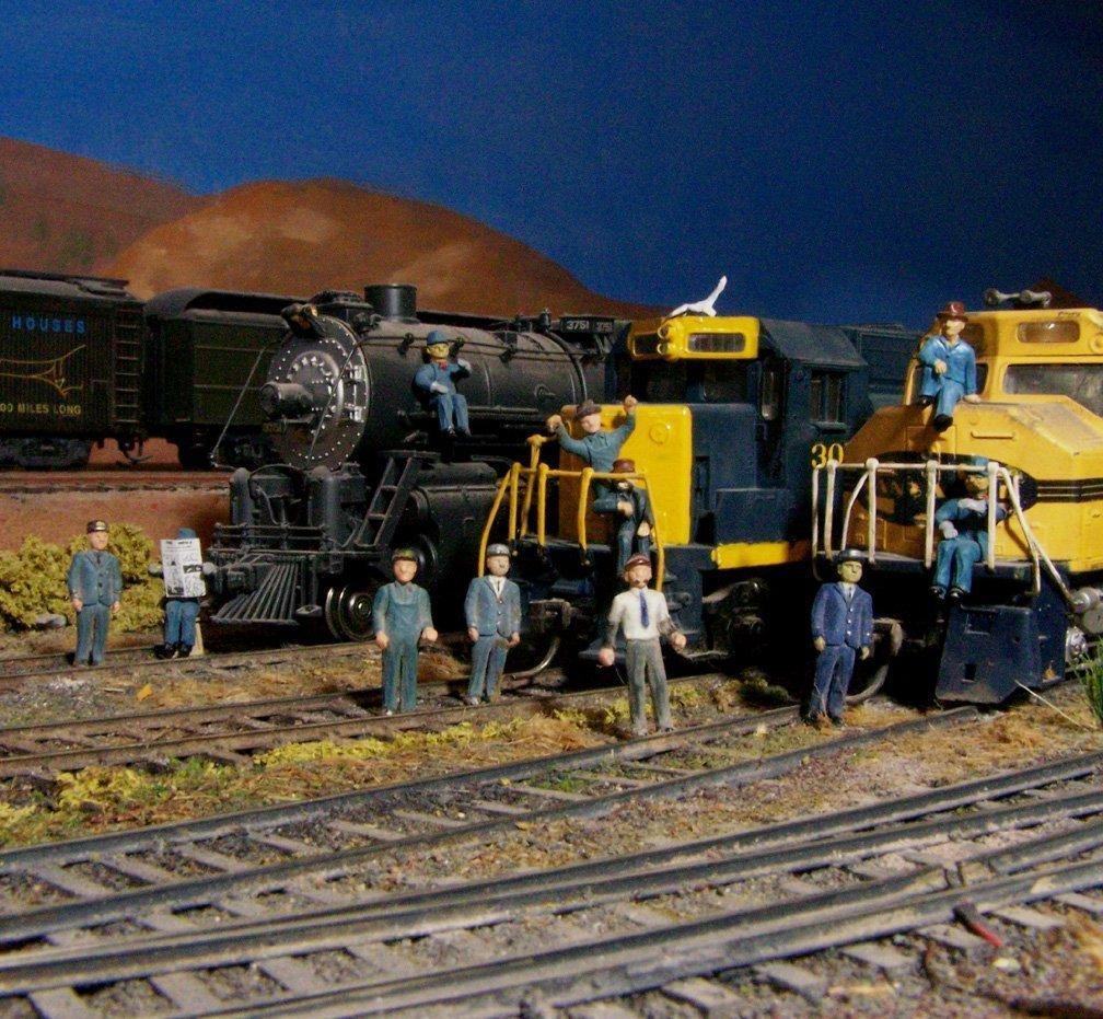 Weston train crews