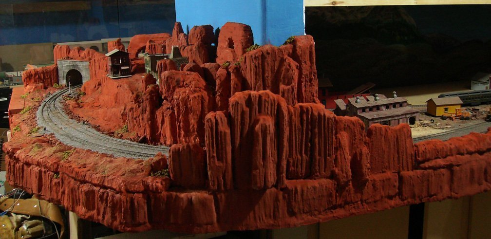 Finished Red Rock Canyon Scene