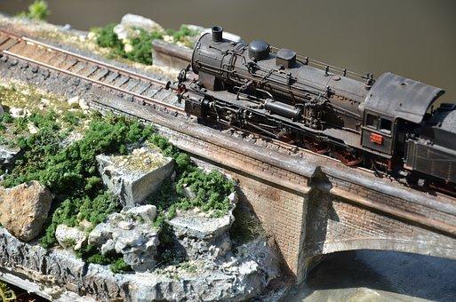 HO Scale Model Railroad